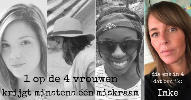 1 op de 4 vrouwen krijgt minstens een miskraam, het verhaal van Imke