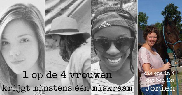 1 op de 4 vrouwen krijgt een miskraam, Jorien vertelt haar verhaal
