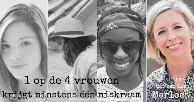 1 op de 4 vrouwen krijgt een miskraam, Marloes vertelt haar verhaal