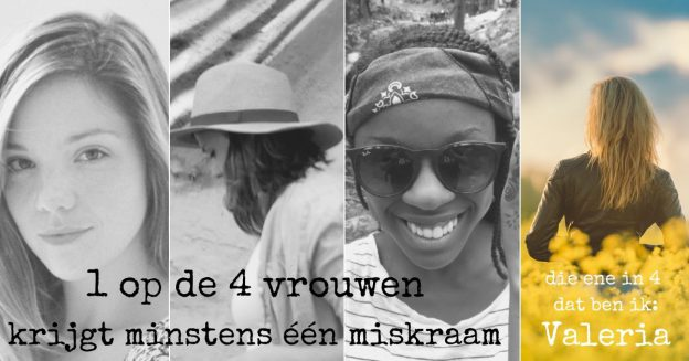 1 op de 4 vrouwen krijgt een miskraam, Valeria vertelt haar verhaal