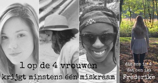 1 op de 4 vrouwen krijgt een miskraam, Frederike vertelt haar verhaal